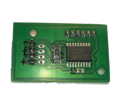 I2C expander 4 channel relay