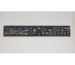 Riglă PCB 15cm cu sloturi...