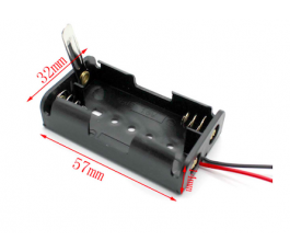 Suport baterii 2xAA cu...