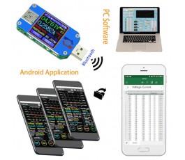 Tester USB 2.0 Tip C LCD...