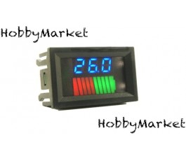 Indicator nivel baterie 12V