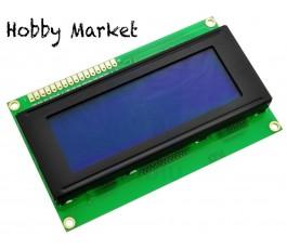Ecran LCD 2004 (20x4) albastru